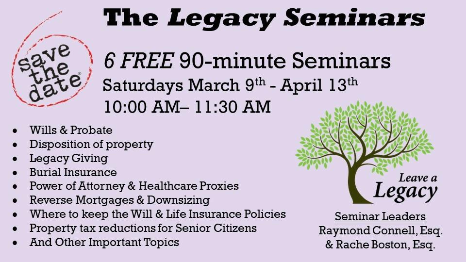 The Legacy Seminar Series