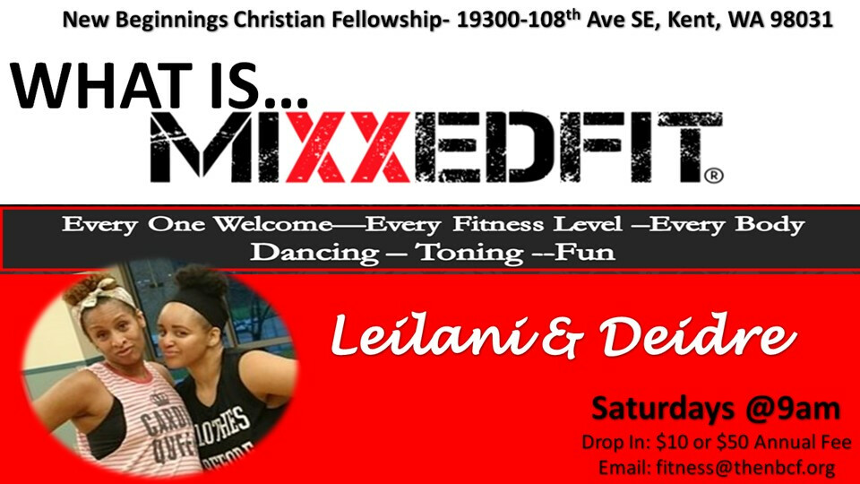 Fitness Class - Mixxed Fit