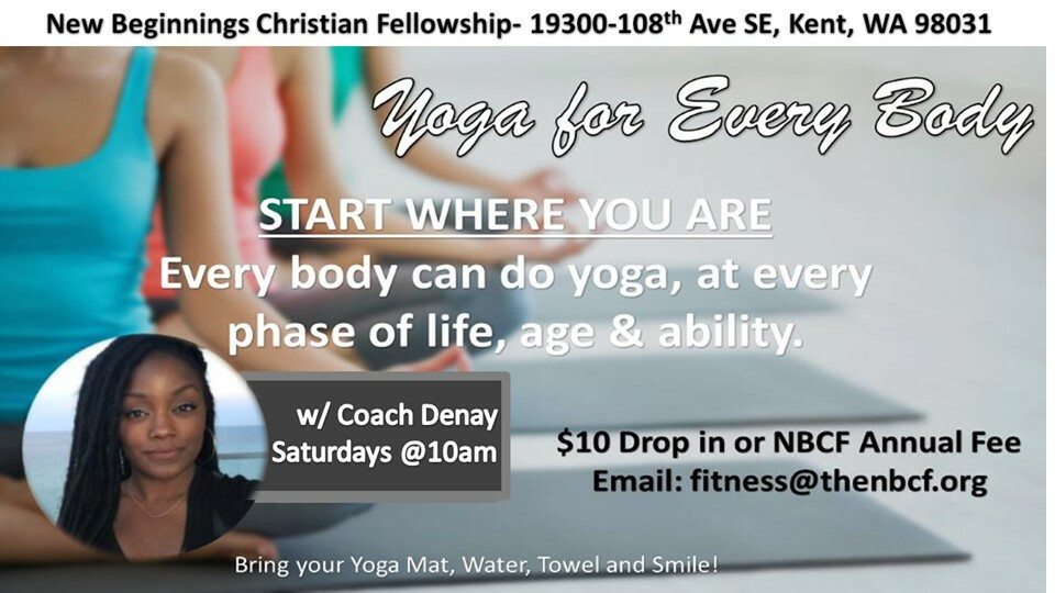 Fitness Class - Yoga (weekends)