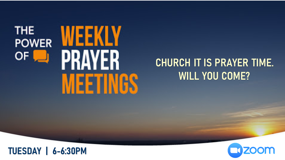 Intercessory Prayer - Weekly