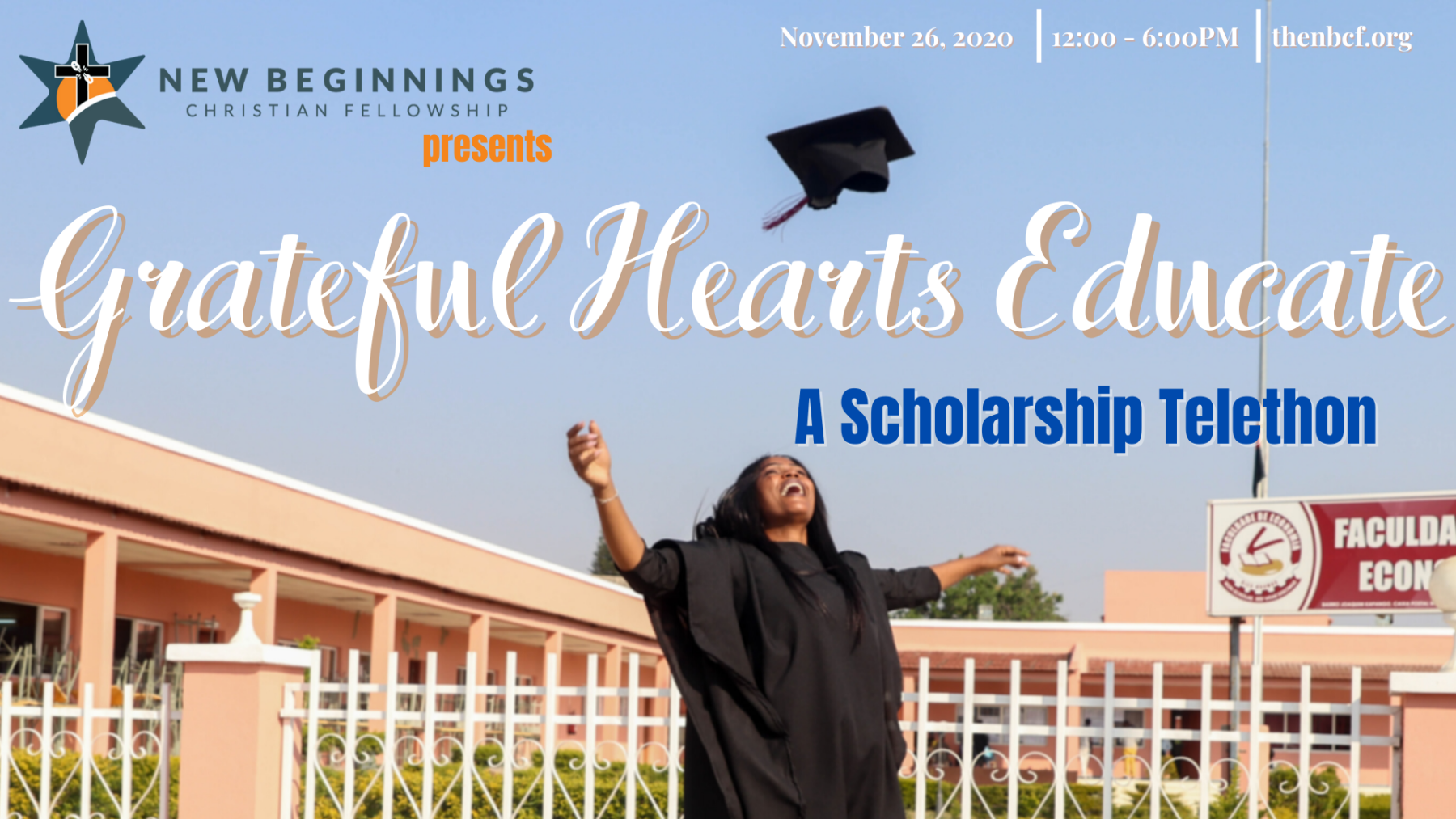 Grateful Hearts Educate - Scholarship Telethon