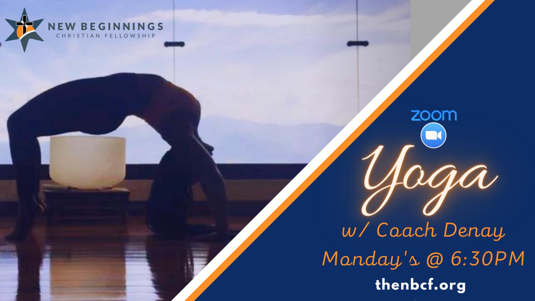 Fitness Class - Yoga Mondays